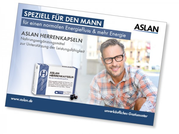 Probe ASLAN Herrenkapseln