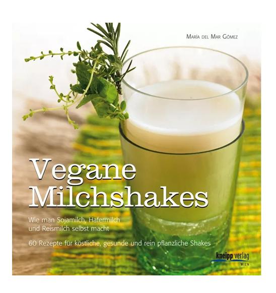 Buch: Vegane Milchshakes (María del Mar Gómez)