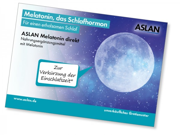 Probe ASLAN Melatonin direkt